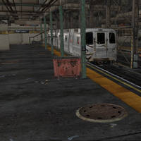 RE6 Merc Rail Yard by Adngel
