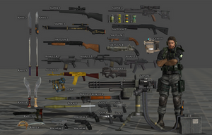 Weapon Pack RE Rev