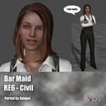 RE6 Civil Bar Maid