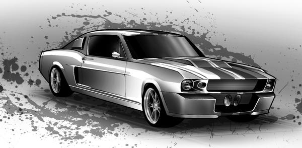 1967 Shelby GT500 by shindmeister on DeviantArt