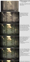 Forest background tutorial
