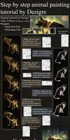 [TUTORIAL] Painting animals + brush settings by Dezigre