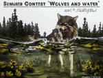 CONTEST - Wolves and water by Dezigre