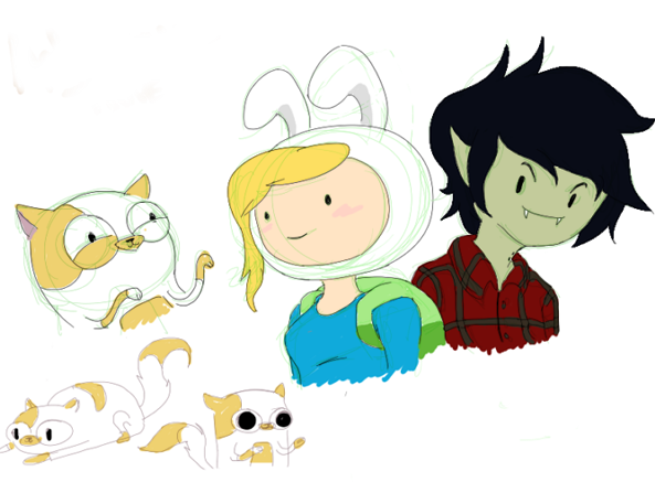 adventure time with fionna and cake marshall lee