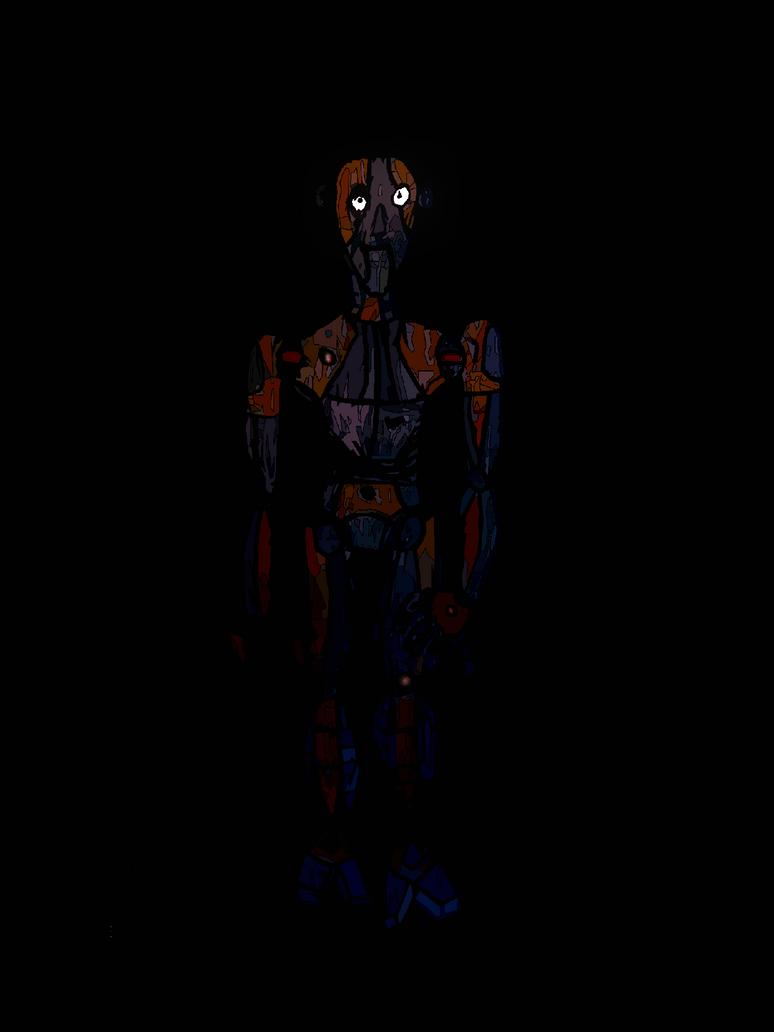 Drawing 126 robot oc by daviobarnartprojcet