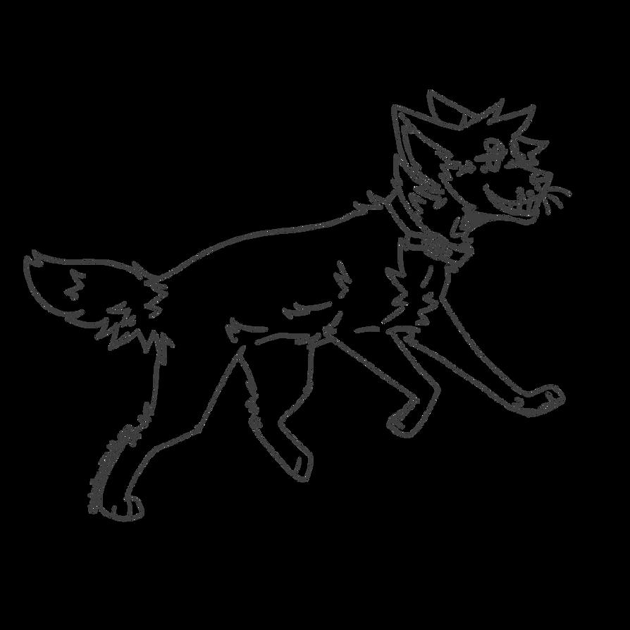 Line Art Dog : Free wolf dog lineart by shadowthewolf on deviantart