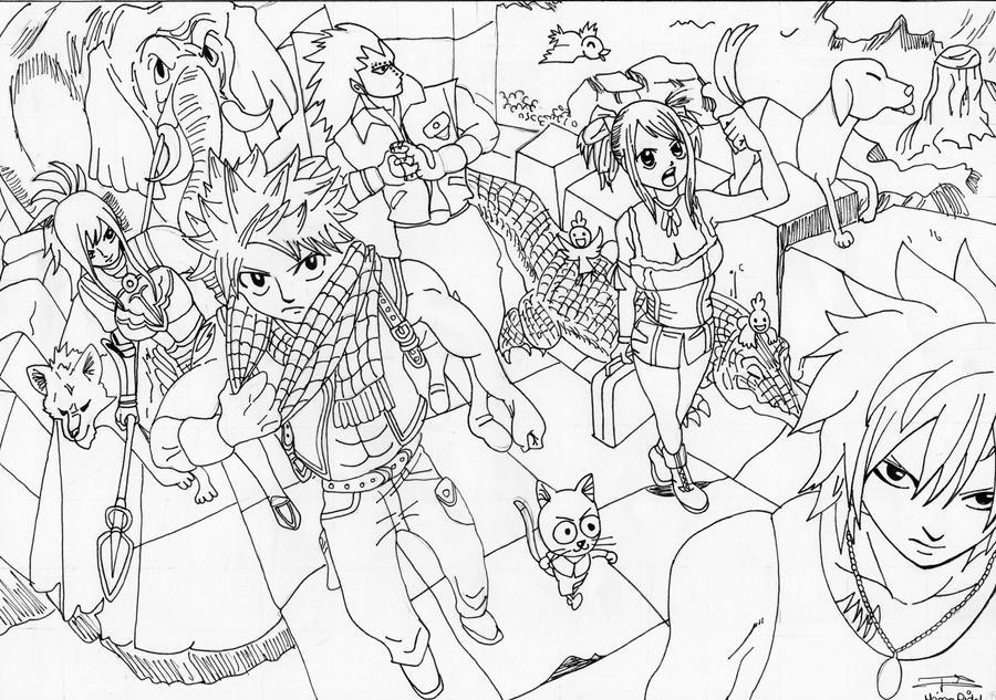 Dessin de Fairy Tail by Seky01 on DeviantArt
