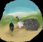A strange meeting... by TalonV