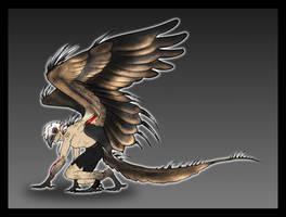 C-E | WingedWolfAlari by TalonV