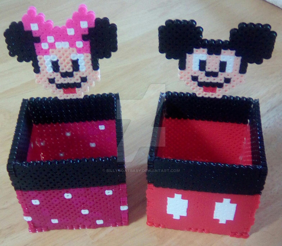 Minnie Perler Bead Box Wiring Diagrams Light Laser Led Gt Xenon Circuits Simple Strobe Circuit L12379 Mickey And Boxes By Billygoatbaby On Deviantart Rh Com Pluto Beads Mouse