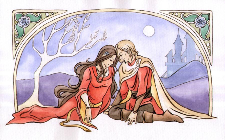 Count Kaz and Countess Neya by Aniril-Amakiir