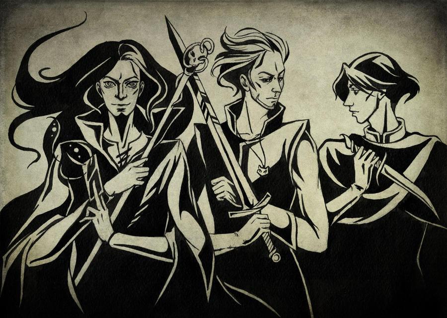 The Dark Trio by Aniril-Amakiir