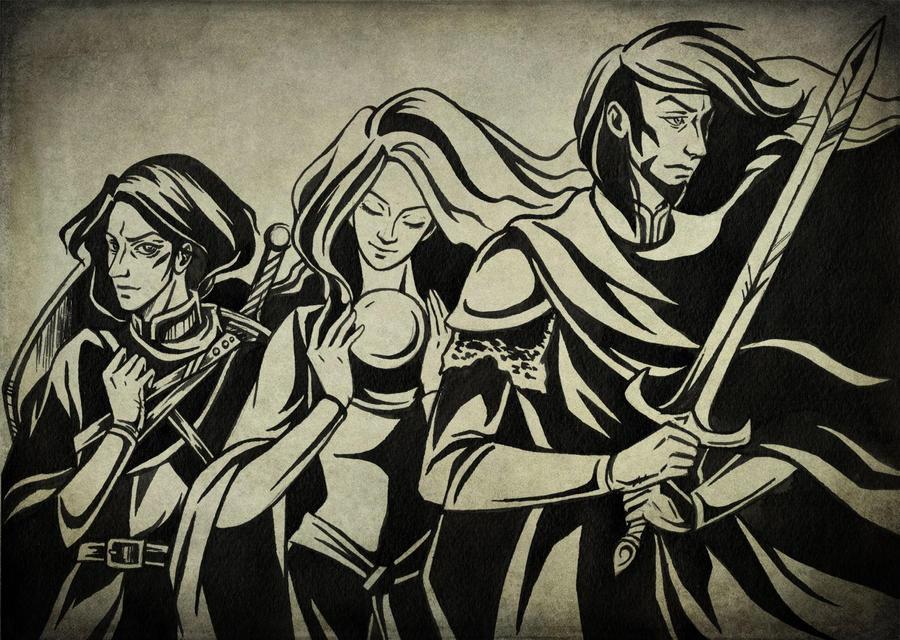Dark Alliance by Aniril-Amakiir