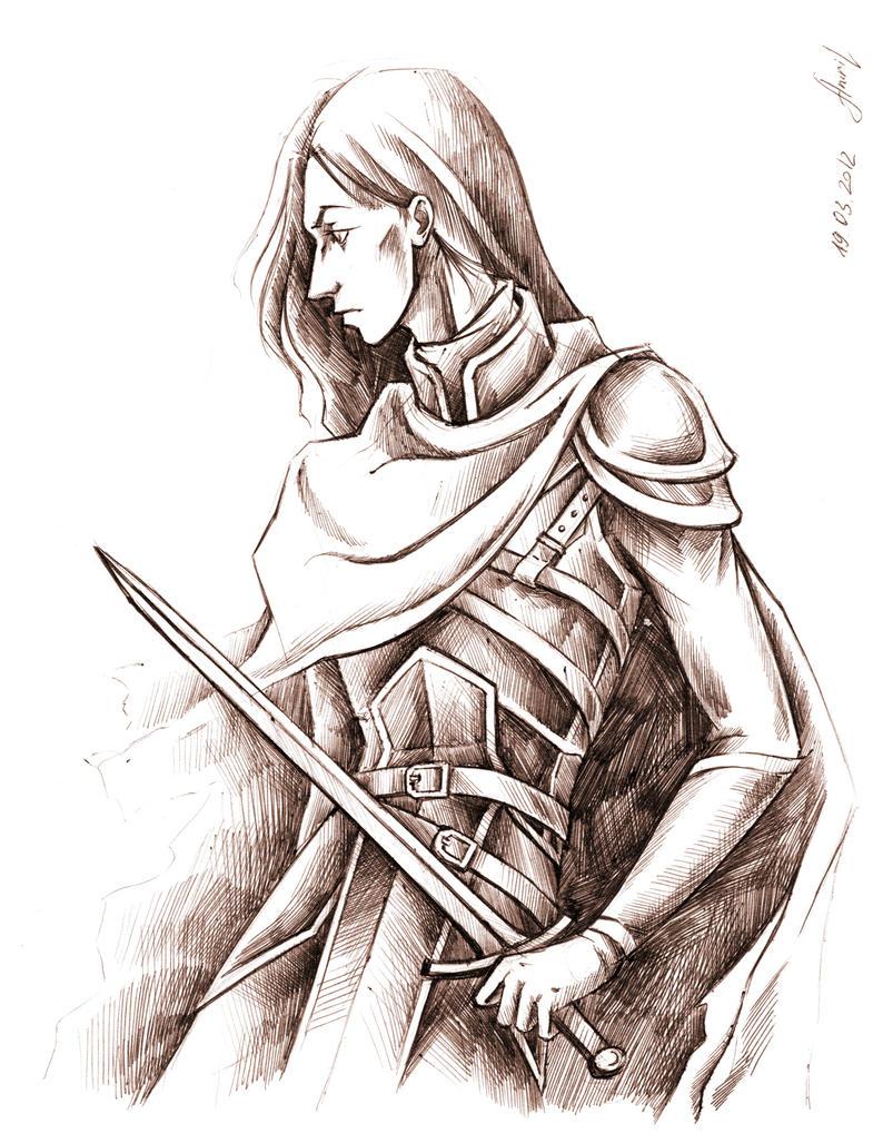 Dark Falcon Knight by Aniril-Amakiir