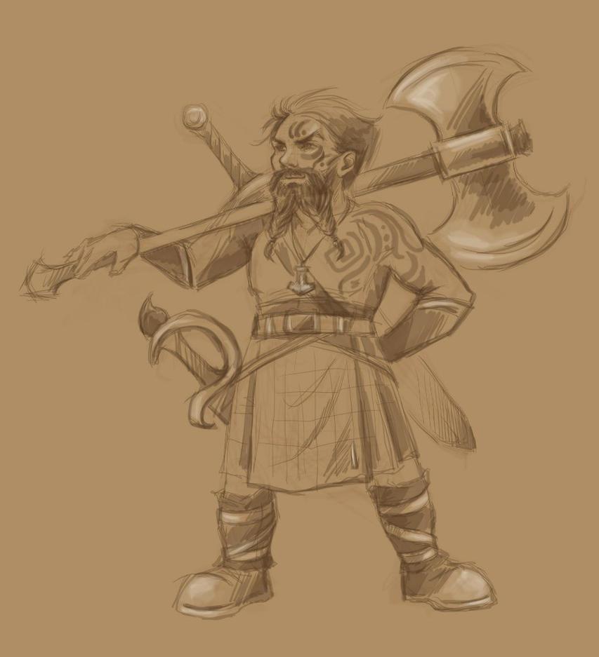Dwarf by Aniril-Amakiir