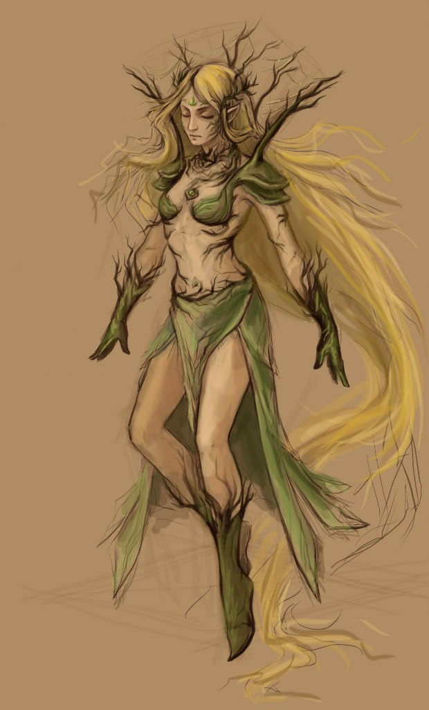 Dryad by Aniril-Amakiir