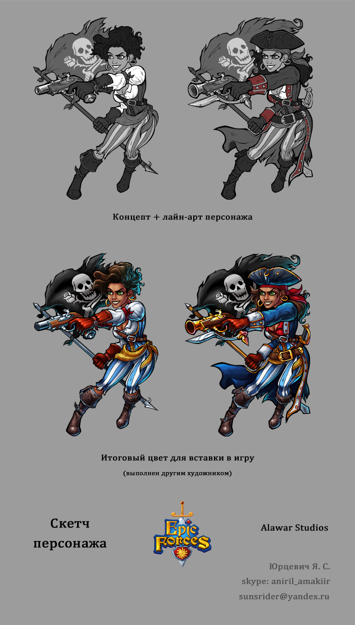Character Pirate by Aniril-Amakiir