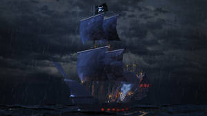 Camara10 Pirate Ship by Hidari-no-Tenshi