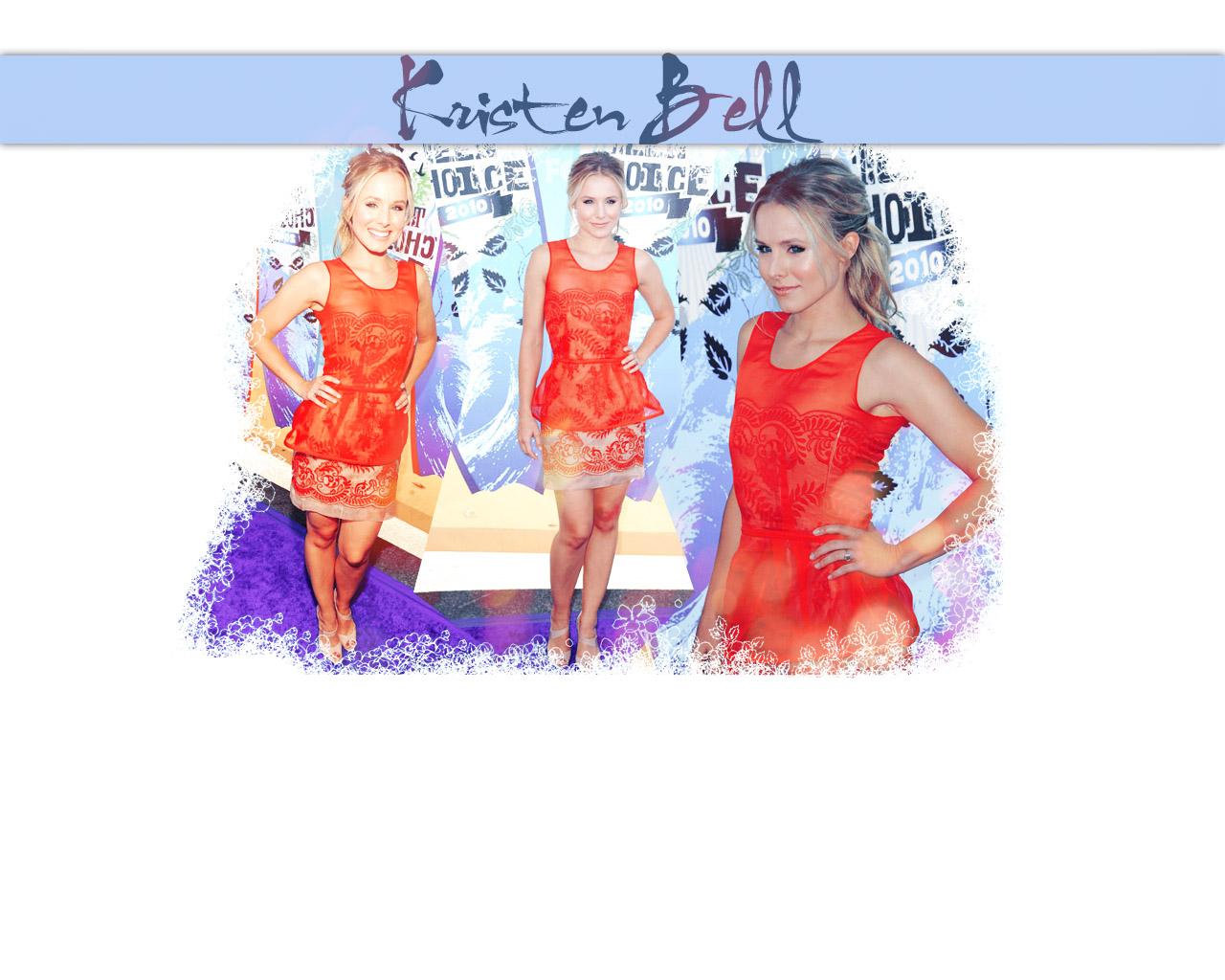 Kristen Bell on Teen Choice