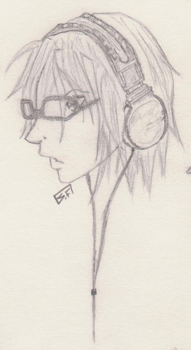 Headphones by Tuna-Patty