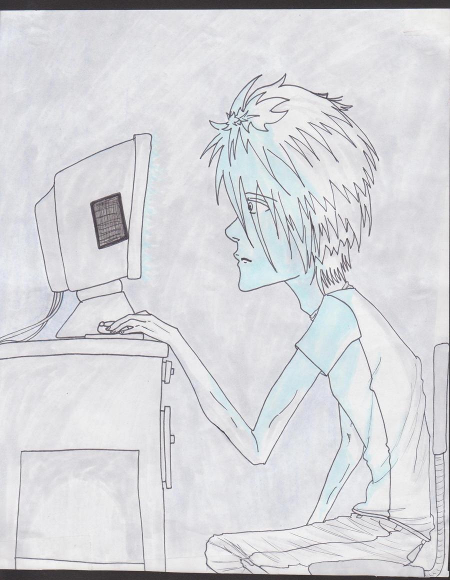 Computer by Tuna-Patty