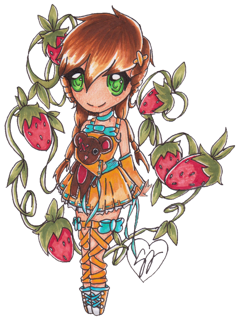 ::Strawberries:: by Tuna-Patty