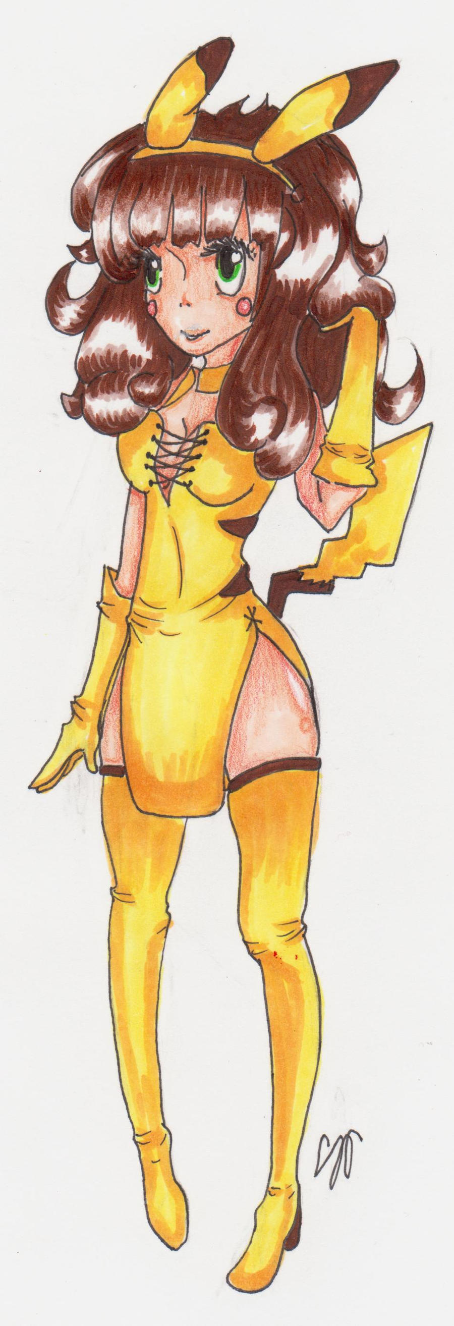 ::Pikachu:: by Tuna-Patty