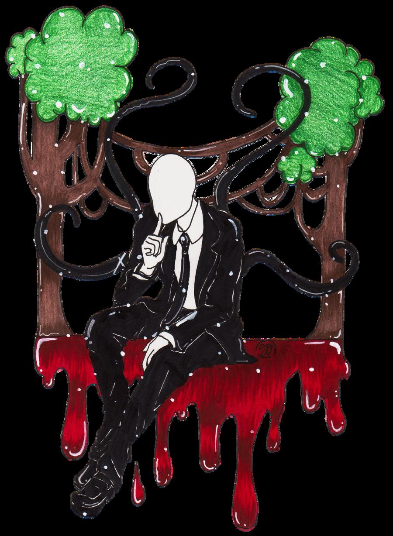 Slender Man by Tuna-Patty