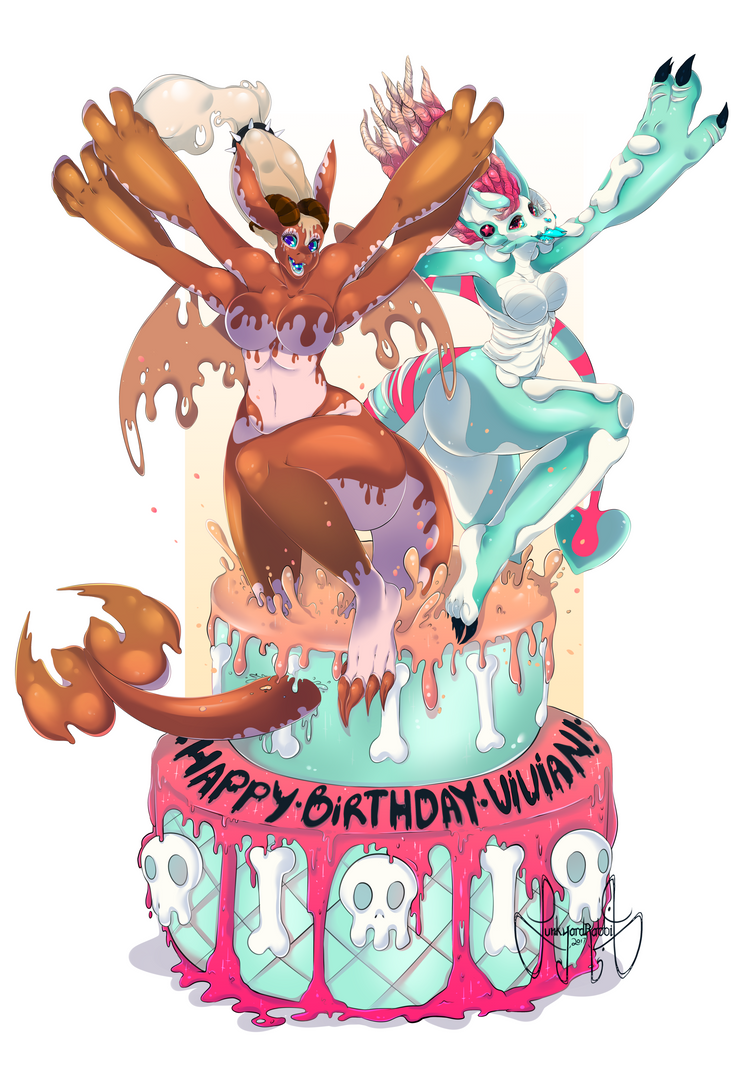 Th Birthday Cake Painting Art Png