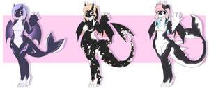 2. Orcadragon Guest Adopts - Nana-Yuka [CLOSED] by JunkYardRabbit
