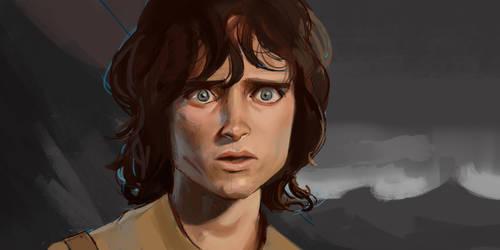 Frodo Baggins [Study] by ILoyal