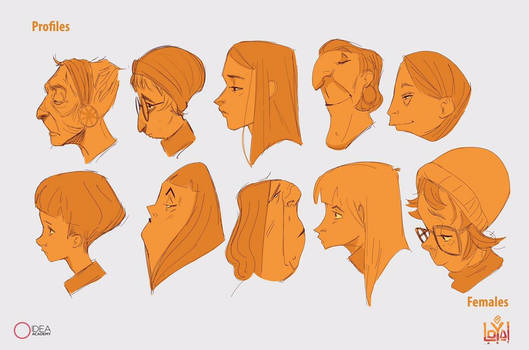 Portraits and shapes