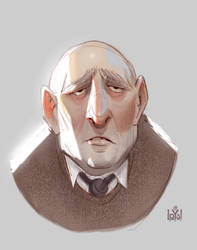 Portrait of him by ILoyal