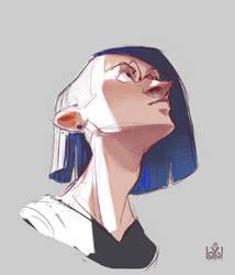 Portrait of Loun by ILoyal