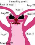 I must hug you
