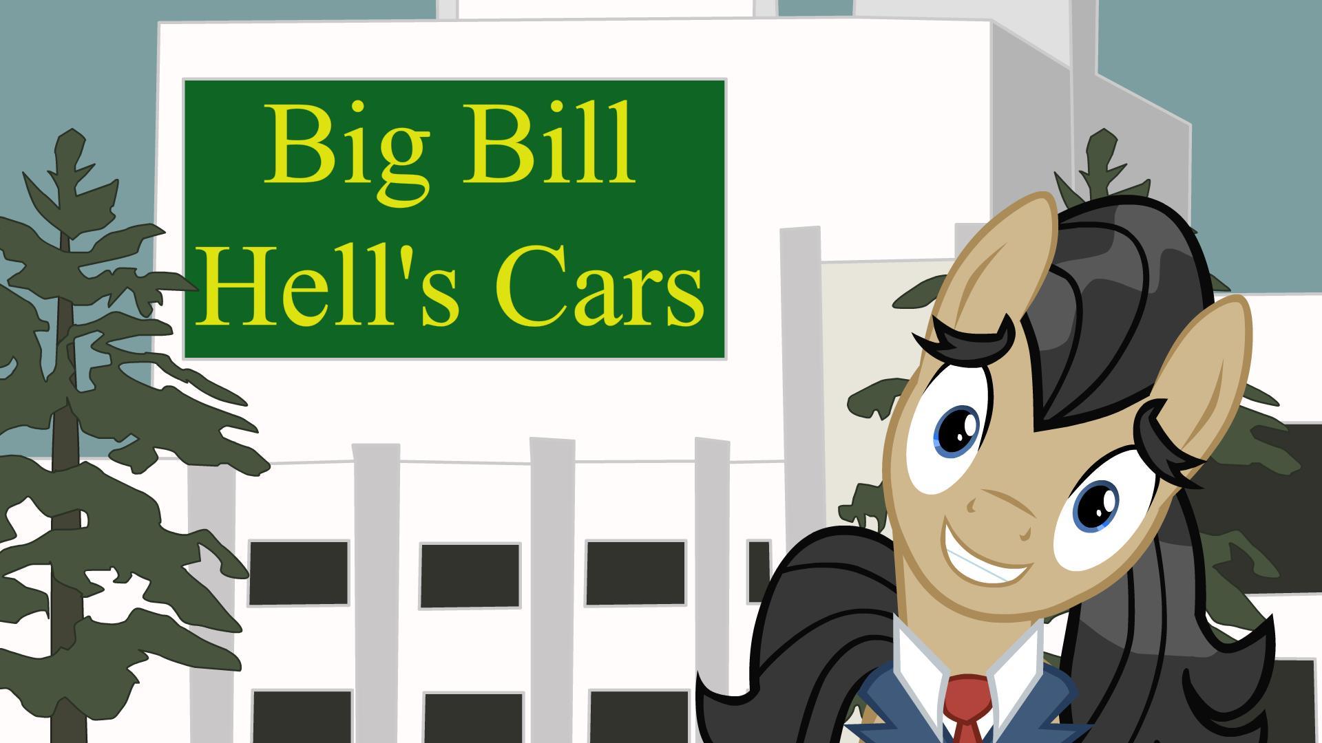 Big Bill Hells Cars (Animation)