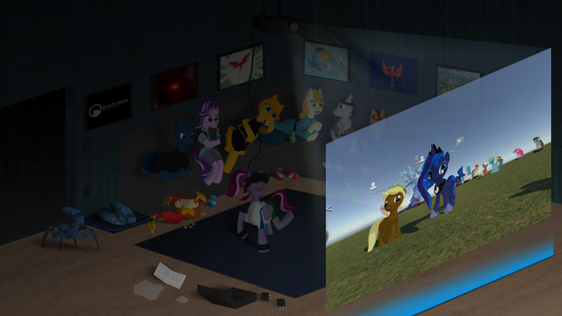 VR with friends