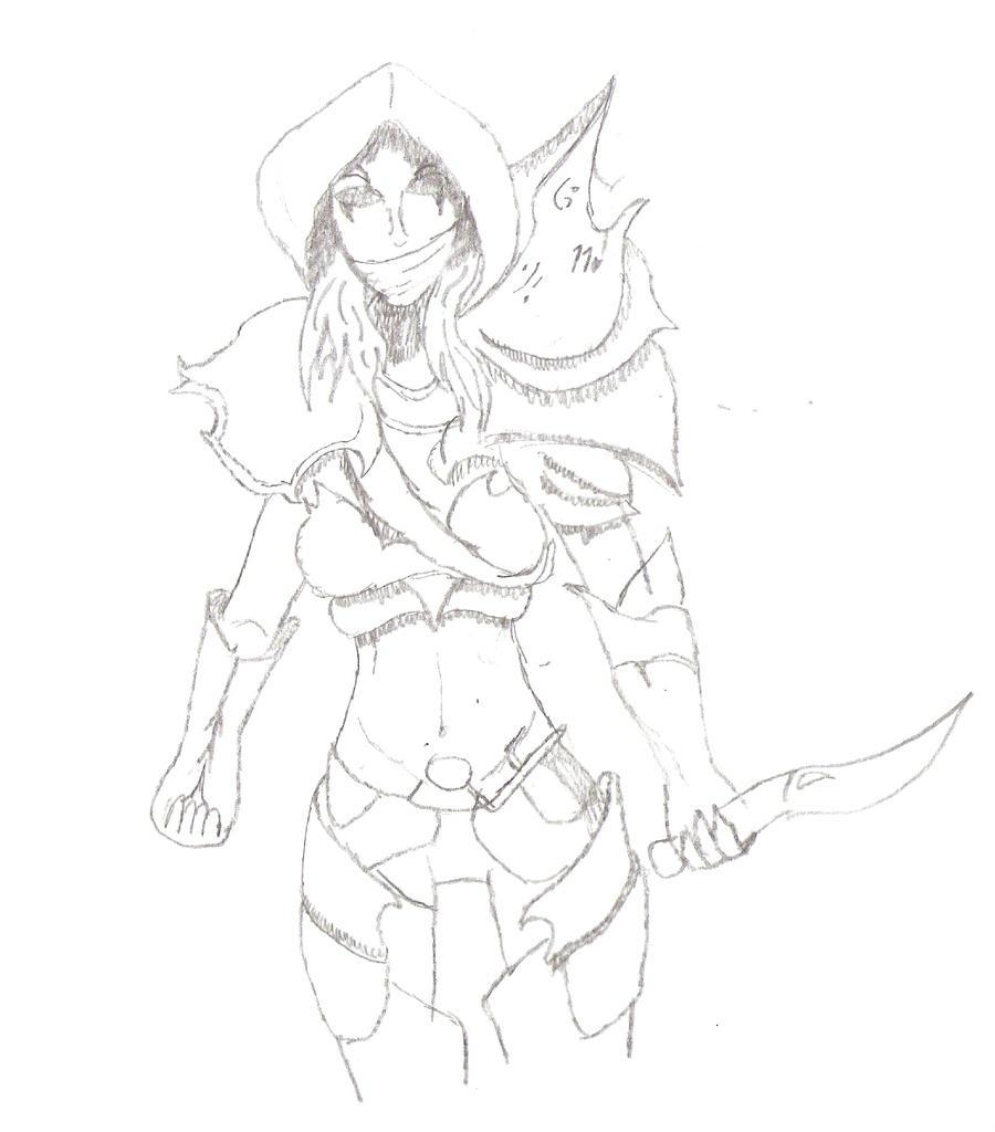 The Dragon's Armor by LadyRoslineDrake