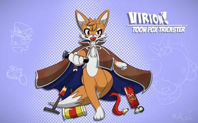 Vir the Toon Fox! by RadDykal