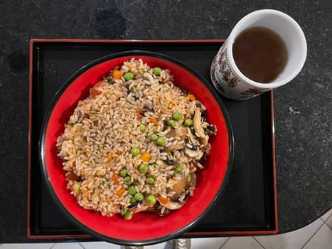 Brown Rice and Ginseng Tea