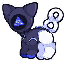 Magic 8 Ball | OFFER TO ADOPT [ON HOLD] by Marshybeetle