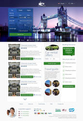 Onewaybooking re-design by DenisYakovlev