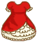 Doodle : Red Lolita Doll Dress by chocoxbaby