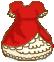 Doodle : Red Lolita Doll Dress by chocoxbaby