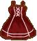 Doodle : Dark Lolita Dress by chocoxbaby