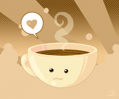 Coffee Cup by TricksyPixel