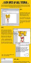 Flash Dress Up Doll -TUTORIAL-