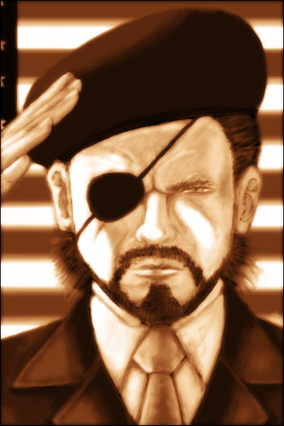 Big Boss -Patriotic- by KierEmJ