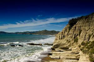 Rocky Beach in California by happeningstock
