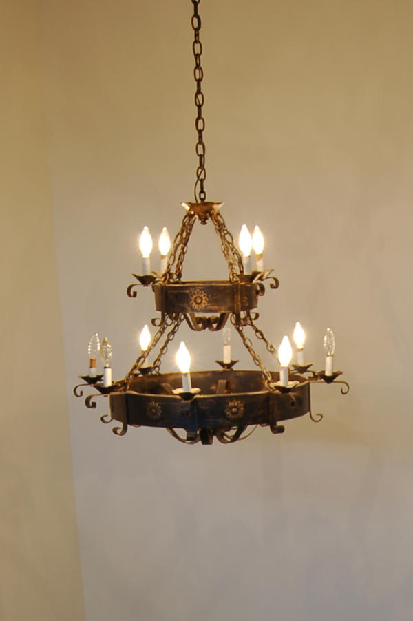 chandelier wrought world foyer copy lighting product iron crystal grand by chandeliers glow old